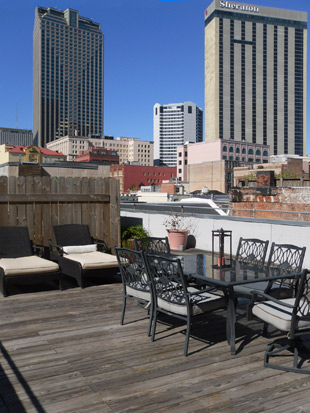 New Orleans vacation rental timeshare
